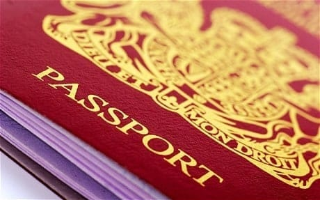 Passeport britannique - Long séjour Applications menant à la citoyenneté