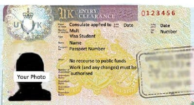 Entry Visa Application