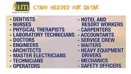 Jobs opportunities Qatar