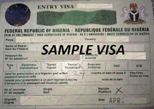 Visas to Nigeria with iam