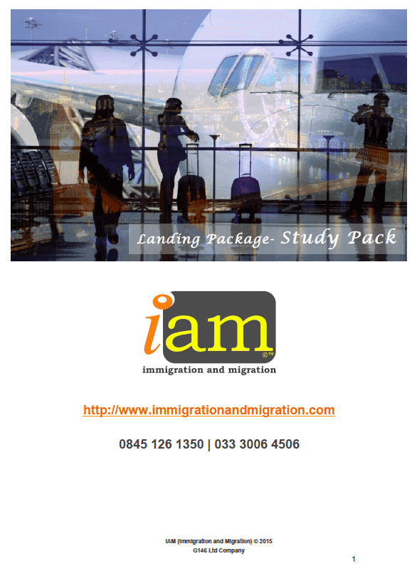 Iam Your Study Abroad Package.