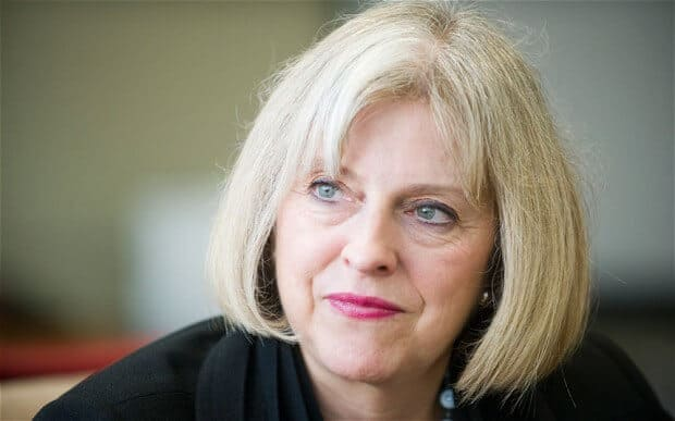 Theresa May on Immigration Reform