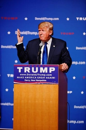Latest News On Immigration: Mr Donald Trump New Hampshire Town Hall on August 19th, 2015 at Pinkerton Academy in Derry, NH by Michael Vadon