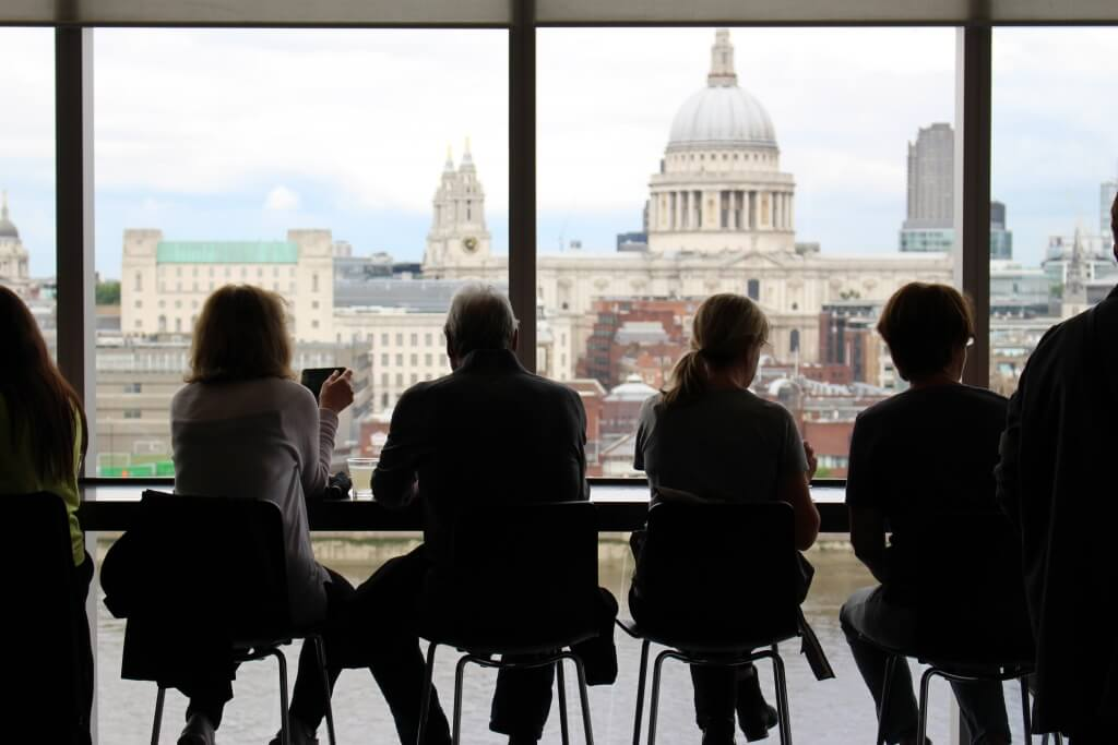 London Views - tier 2 sponsor list (Tate Modern)