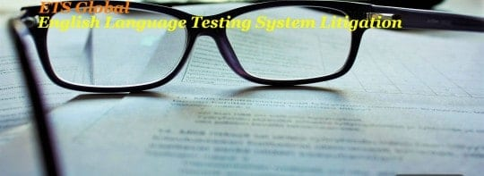 Home Office Approach to English Language Testing System Litigation