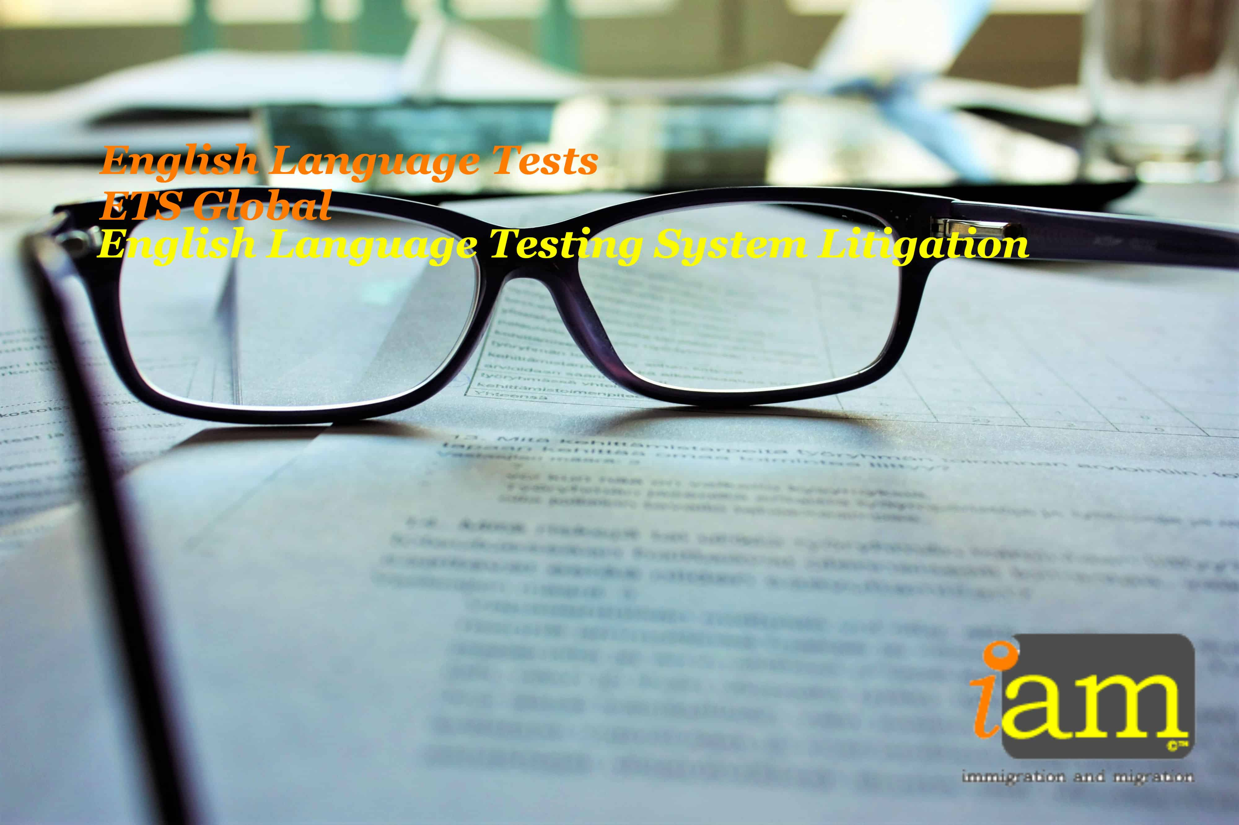 English Language Test - english language testing system - ETS