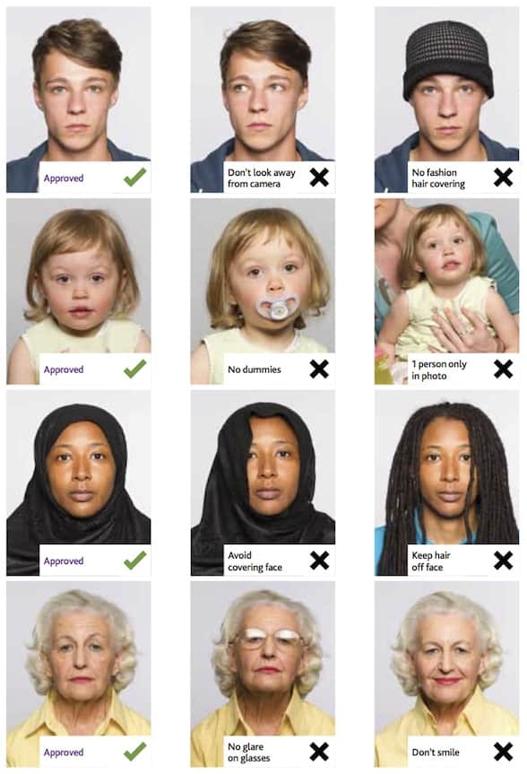 passport photo requirements guidance