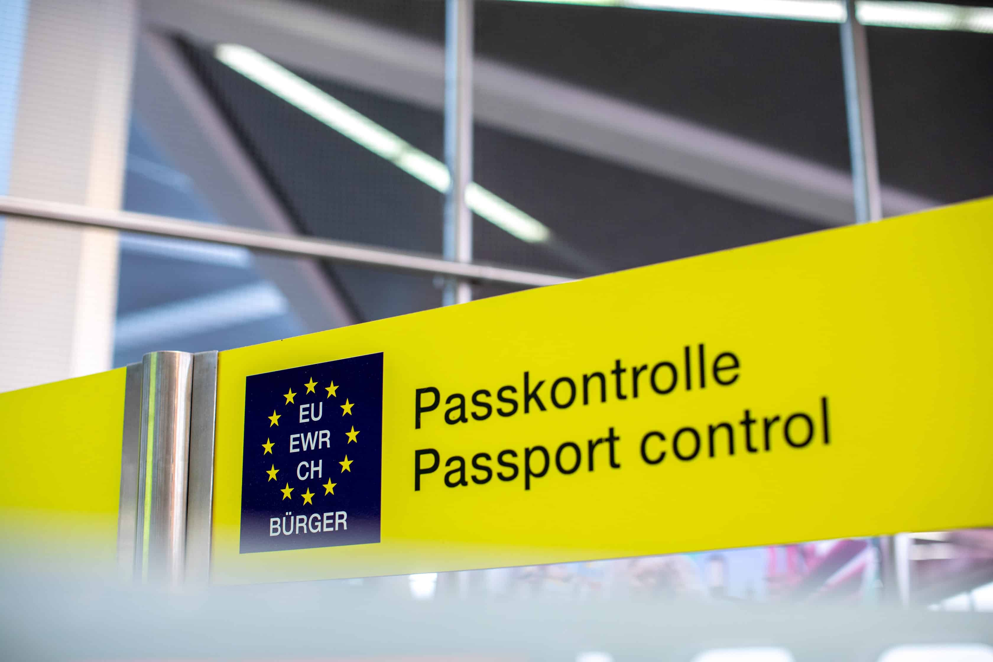 Apply for the EU Settlement Scheme - Passport Control