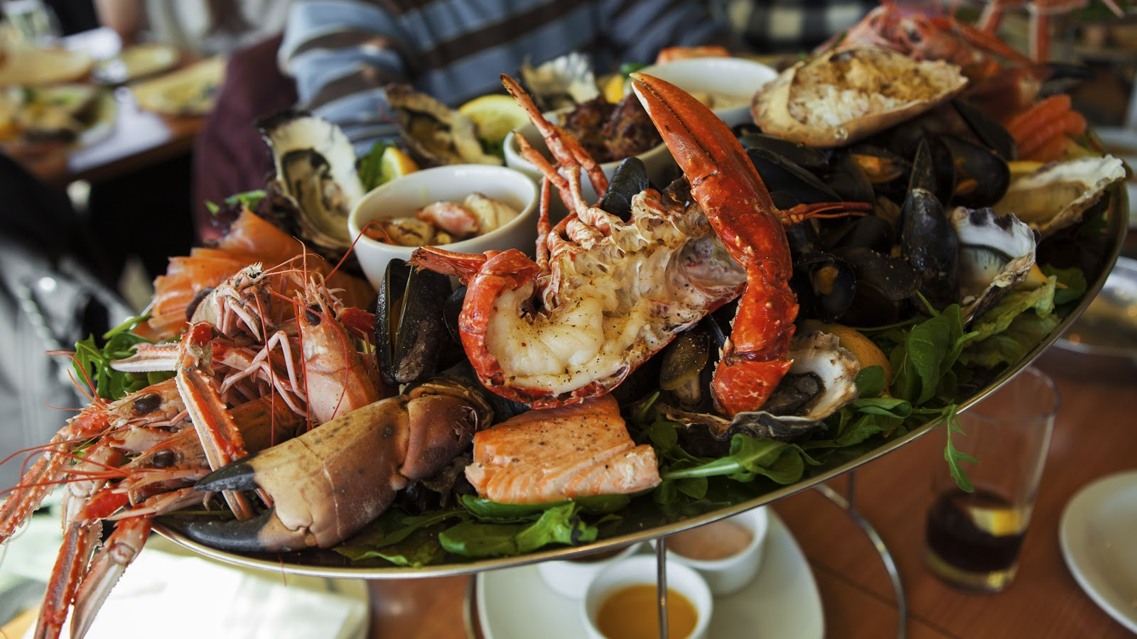 non schengen countries - eat great seafood in Antigua and Barbuda