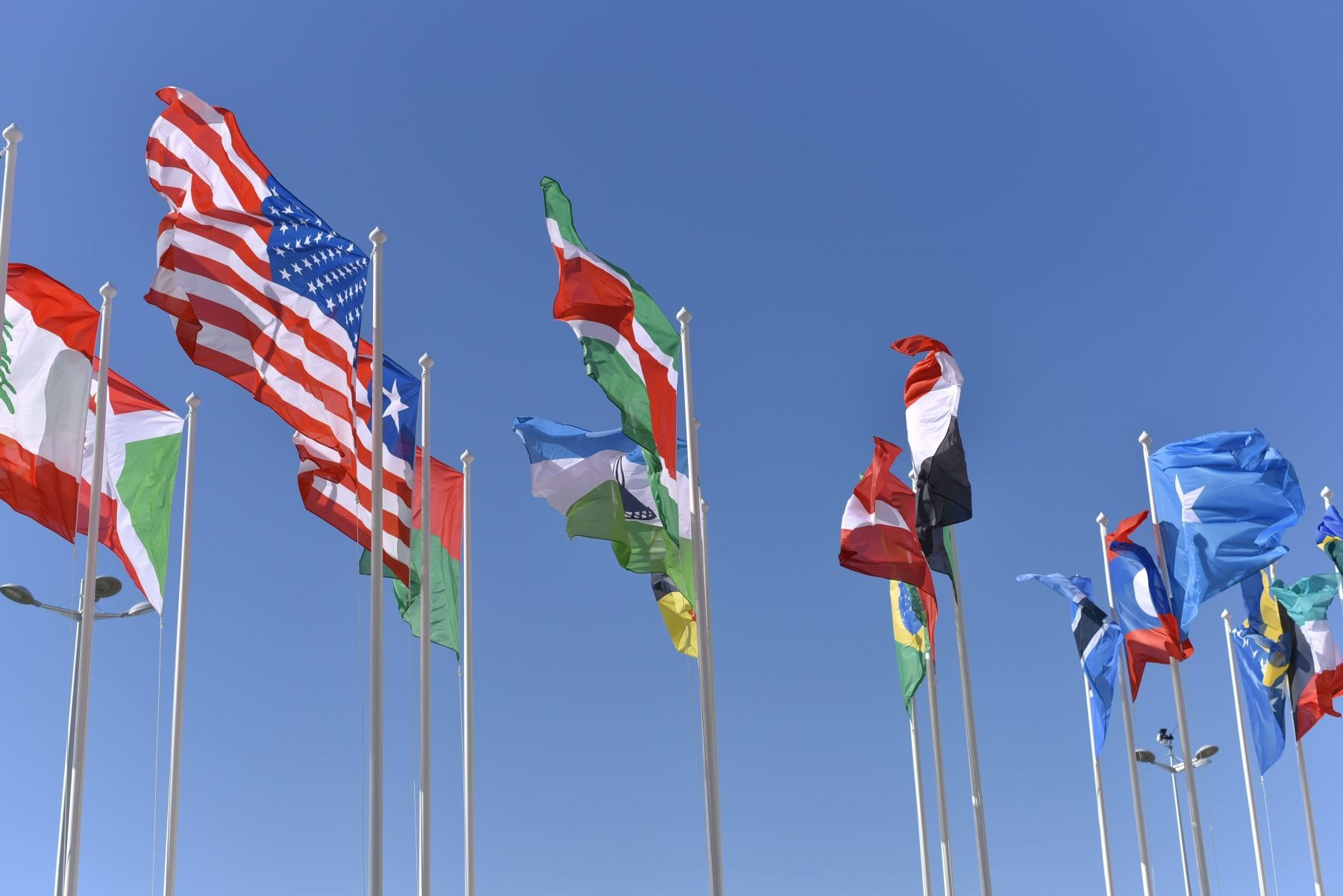 Embassies and Consulates - Flags