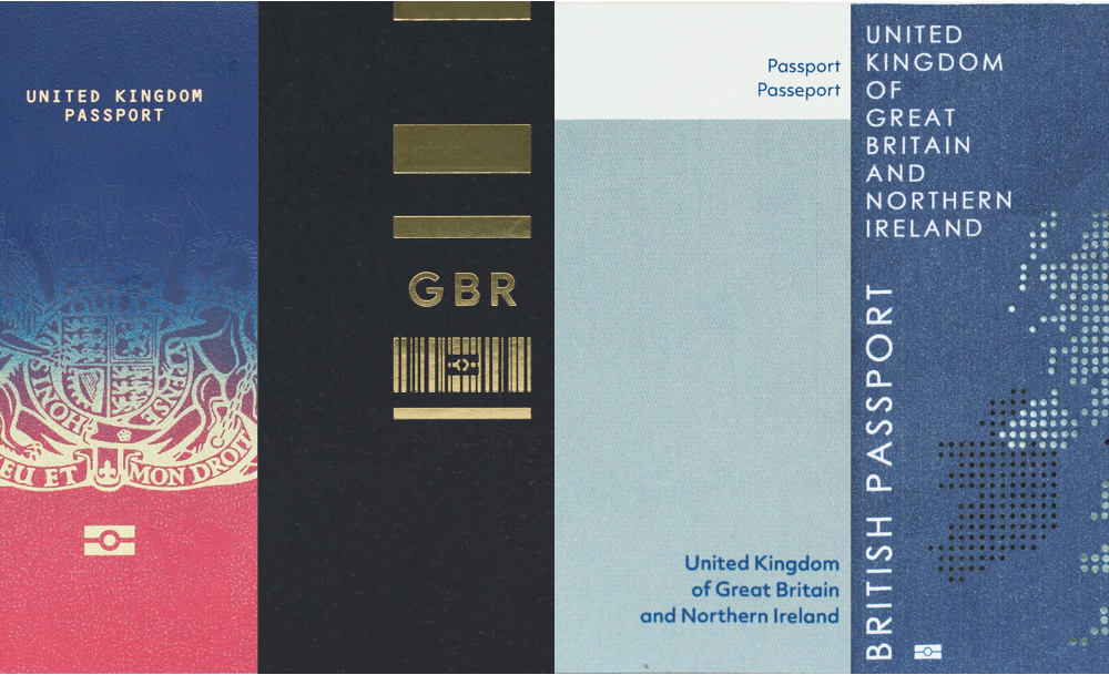 British Passport Design Shortlist