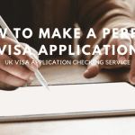 How to get my UK visa application checking service?