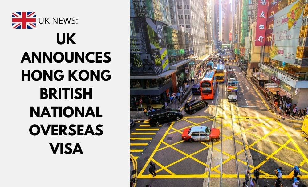 UK Announces Hong Kong British National Overseas Visa