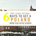 6 Ways to Get a Poland Work Visa After Your Studies: Post-study Work Options