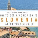 How to Get a Slovenia Work Permit After Studies: Post Study Work Visa Slovenia