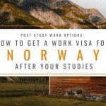Post Study Options: How to Get a Post Study Work Visa in Norway