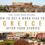 Post Study Work Options: How to Get a Greece Work Visa After Your Studies