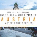 Post Study Work Options: How to Get an Austria Work Visa After Your Studies