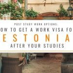 Post Study Work Options: How to Get an Estonia Work Visa After Your Studies