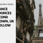 France announces second lockdown, UK to follow