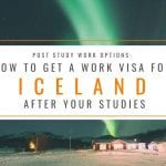 Iceland Post Study Work Visa - How to Get a Work Visa for Iceland