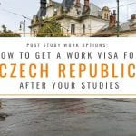 Post Study Work: How to Get a Work Visa in the Czech Republic After Studies