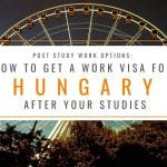 Post Study Options: How to Get a Work Visa in Hungary After Your Studies