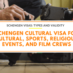 Schengen Cultural Visa for Cultural, Sports, Religious Events, and Film Crews