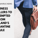 Business travellers to be exempted from England's quarantine rule