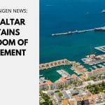 Gibraltar retains freedom of movement