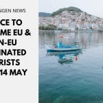 Greece to Welcome EU & Non-EU Vaccinated Tourists from 14 May