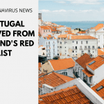 Portugal Removed from England's Red List
