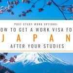 Post Study Work Options: How to Get a Work Visa in Japan After Studies