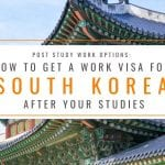 Post Study Work Options: How to Get a Work Visa in South Korea After Studies