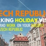 Czech Republic Working Holiday Visas