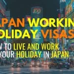 Japan Working Holiday Visas