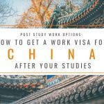 Post Study Work Options: How to Get a Work Visa in China After Studies