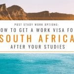 Post Study Options: How to Get a Work Visa in South Africa After Studies