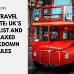 UK Travel Update: UK's 'Red' List and Relaxed Lockdown Rules