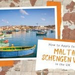 How to Apply for a Malta Schengen Visa  from the UK