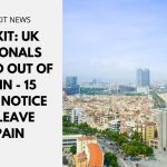 Brexit: UK Nationals Kicked Out of Spain - 15 Days Notice to Leave Spain