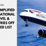 UK's Simplified International Travel & Countries Off the Red List